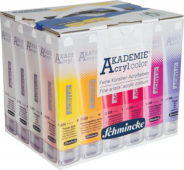 MAILING_2021-05_Mai: Schmincke Akademie Acryl Color   Value-Pack: 20x 120 ml