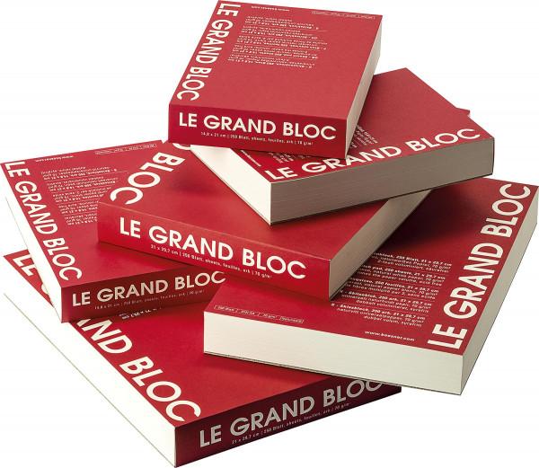 Le grand bloc Skizzenblock