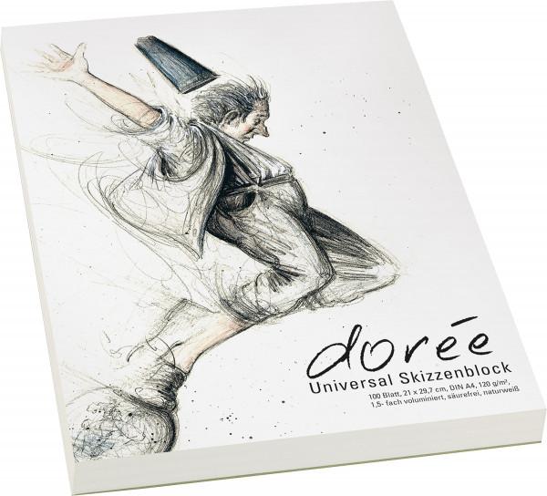Dorée V120 Universal-Skizzenblock