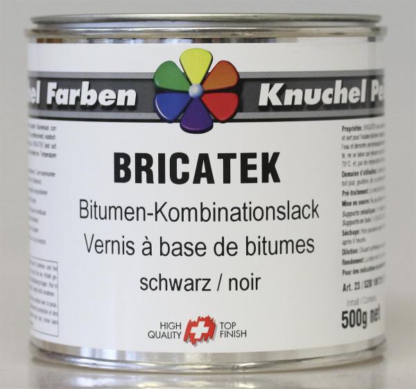 Boesnertest Bricatek Bitumen-Kombinationslack