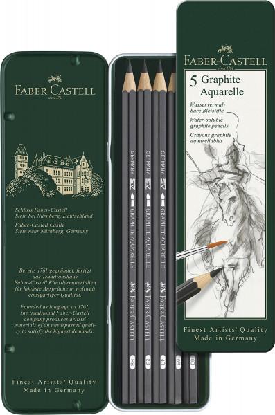 Faber-Castell Graphite Aquarelle Bleistift-Set
